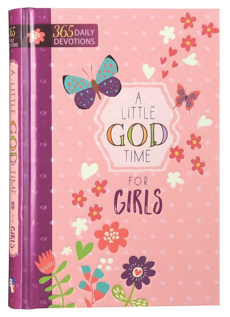 Product: Little God Time For Girls, A: 365 Daily Devotions Image