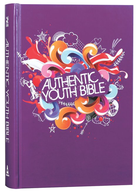 Product: Erv Authentic Youth Bible Purple Image