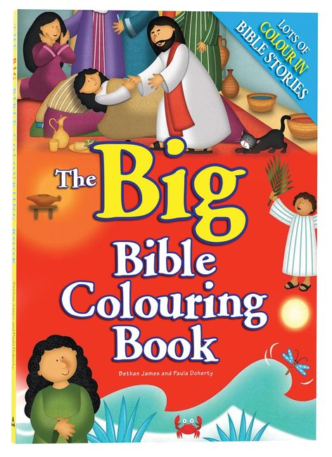 Product: Big Bible Colouring Book, The Image