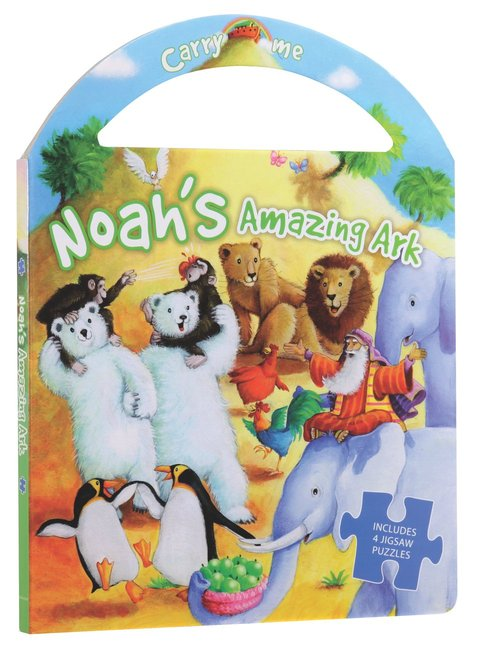 Product: Carry Me Puzzle Book: Noah's Amazing Ark Image