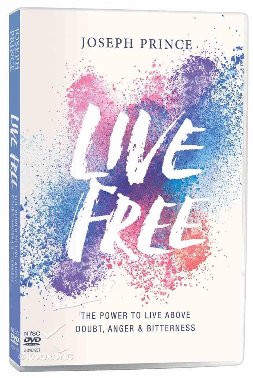 Live Free (3 Dvds) DVD