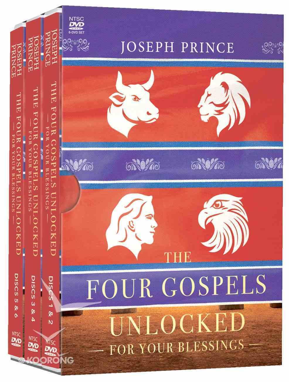 The Four Gospels Unlocked For Your Blessings (4 Dvd Set) DVD