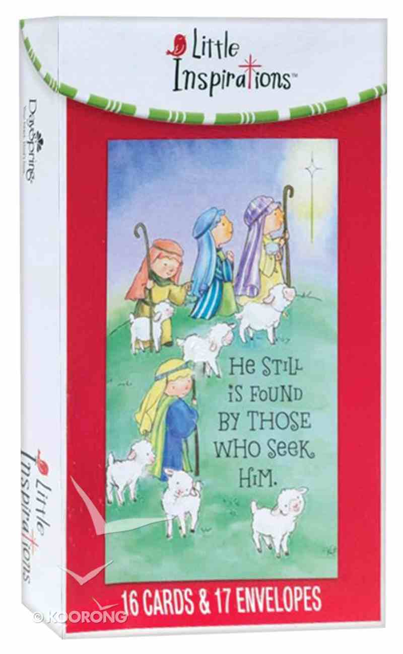 Christmas Boxed Cards: He is Still Found By Those Who Seek Him (Luke 1:78,79 Kjv) Box