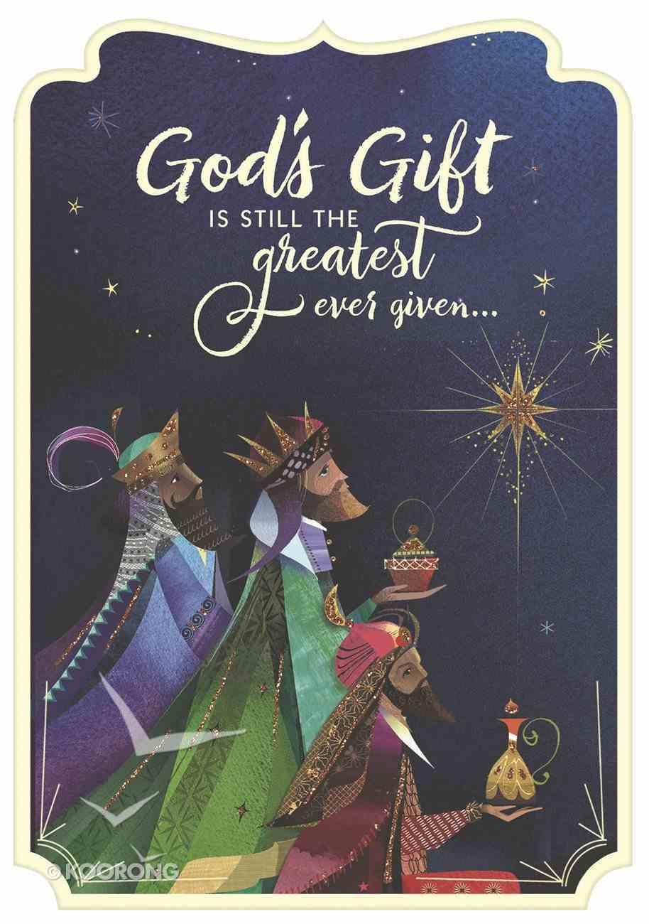 Christmas Boxed Cards: God's Gift Wisemen (Romans 6:23 Kjv) Box