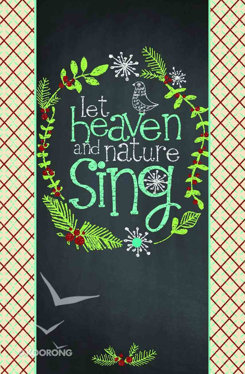Christmas Premium Boxed Cards: Let Heaven and Nature Sing (Luke 2:10,11 Nlt) Box