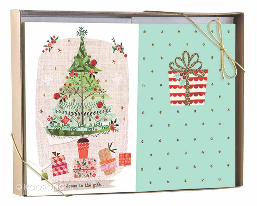 Christmas Boxed Cards Dual Pack: Jesus is the Gift (Luke 2:10, 11 Nlt) Cards