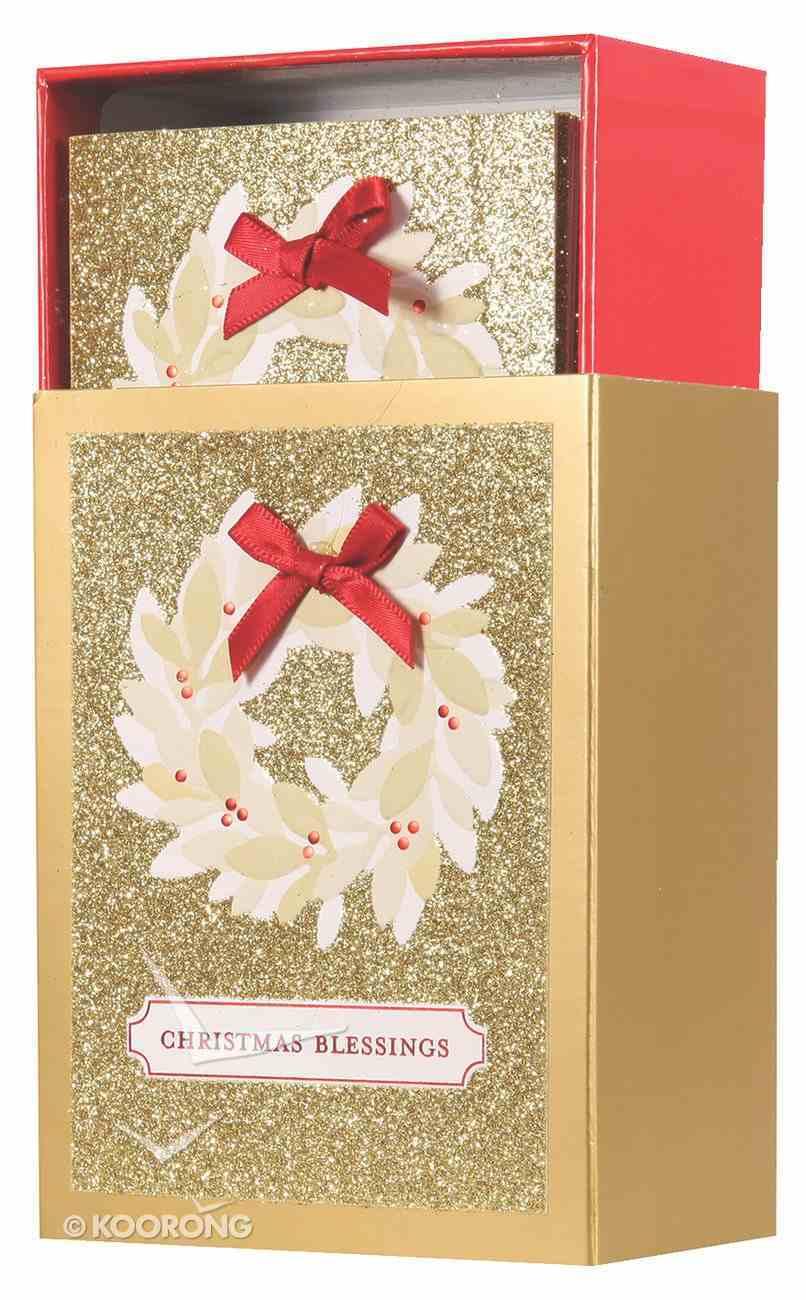Christmas Match Boxed Cards: Christmas Blessings (Luke 2:14 Kjv) Cards