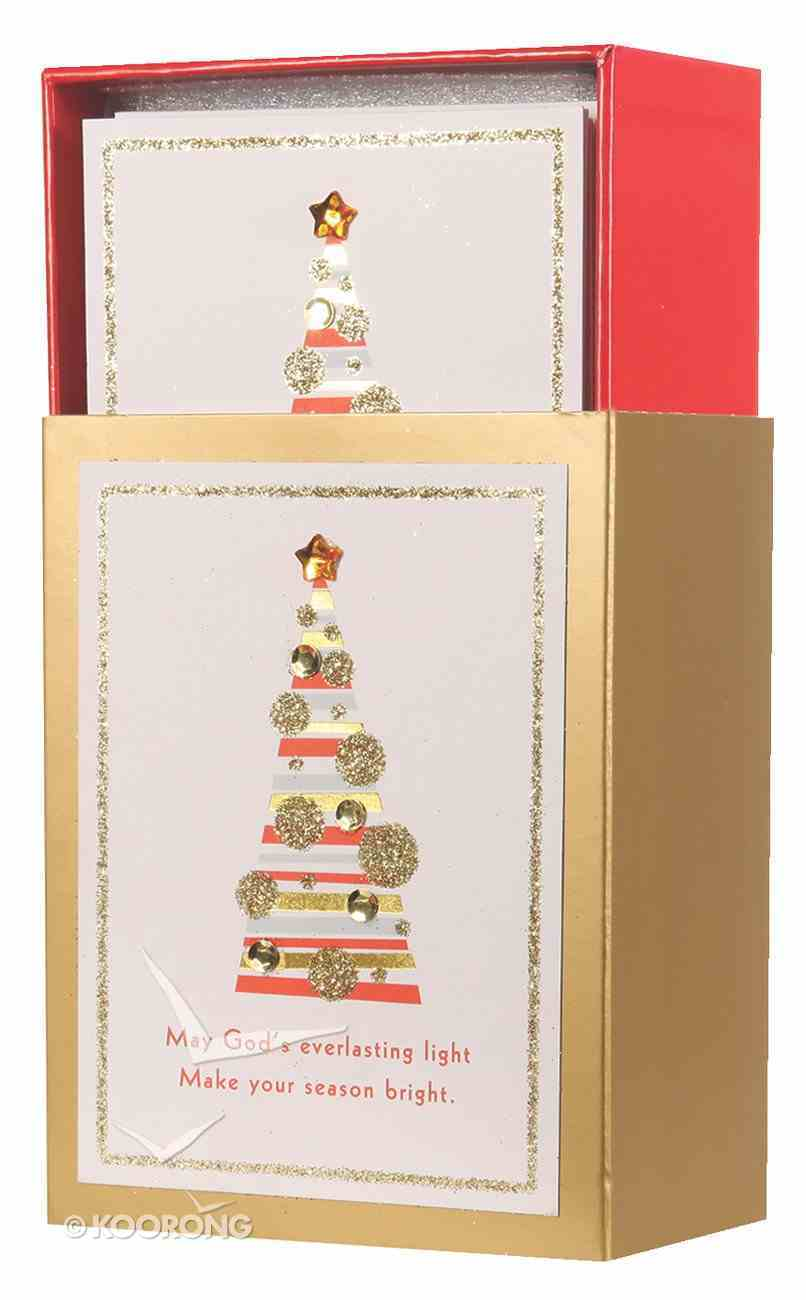 Christmas Match Boxed Cards: Christmas Tree (Isaiah 9:2,6 Nrsv) Cards
