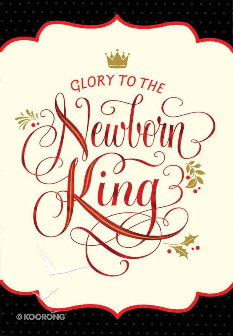 Christmas Boxed Cards: Glory to the Newborn King (Numbers 6:24 Niv) Box