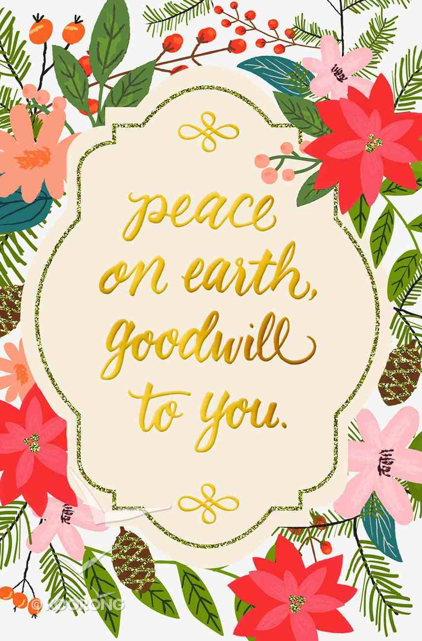 Christmas Premium Boxed Cards: Peace on Earth Box