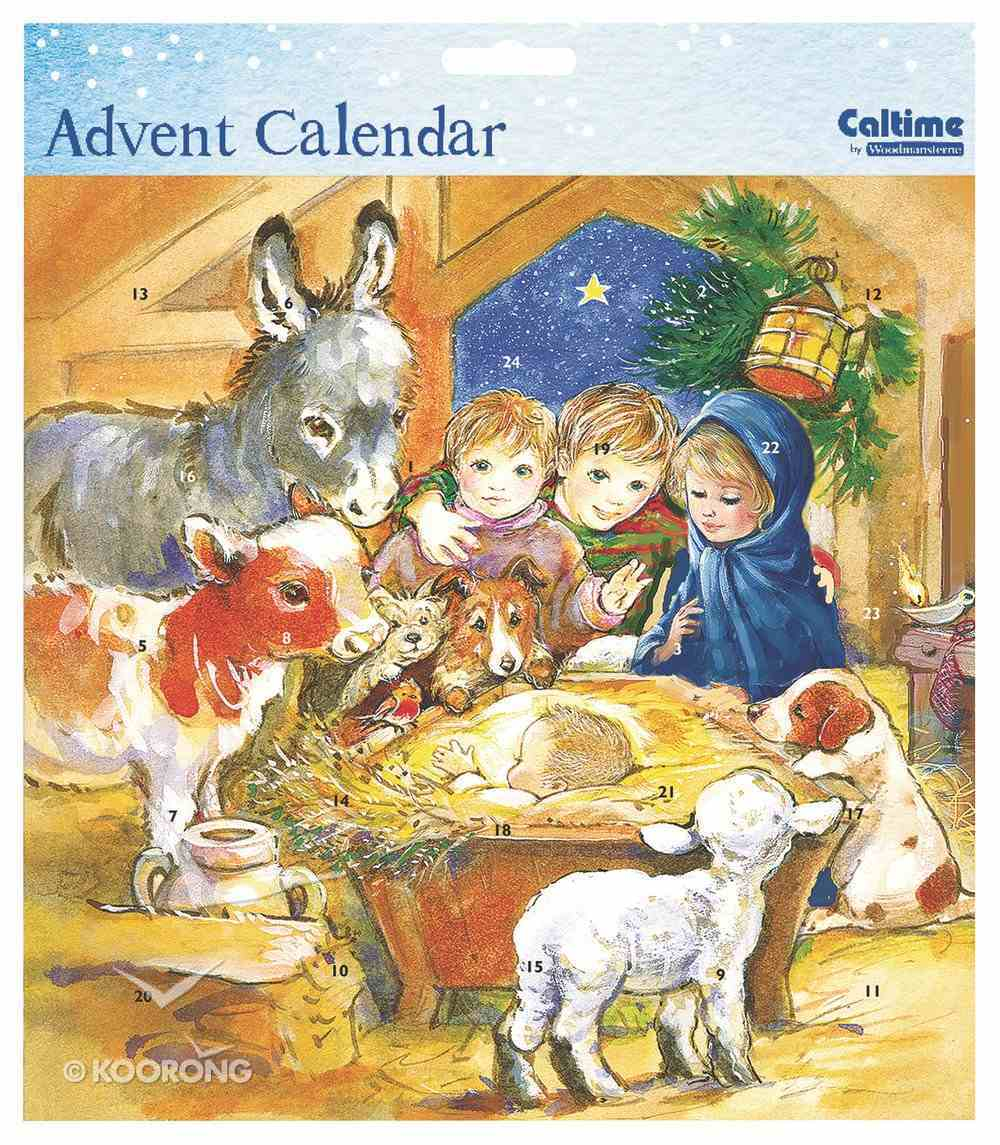 Advent Calendar: Childrens Manger Scene Calendar