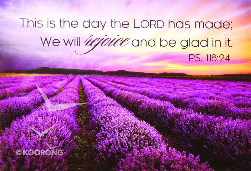 Magnet With a Message: This is the Day the Lord Has Made.... (Ps 118:24) Novelty