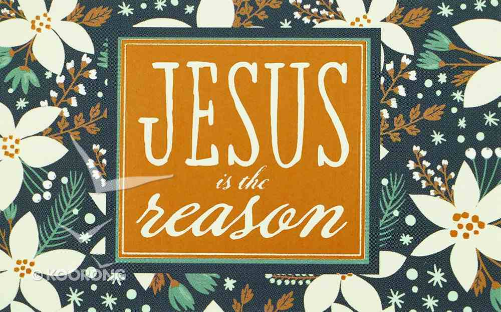 Christmas Pass-Around Cards: Jesus is the Reason (25 Pack) Cards