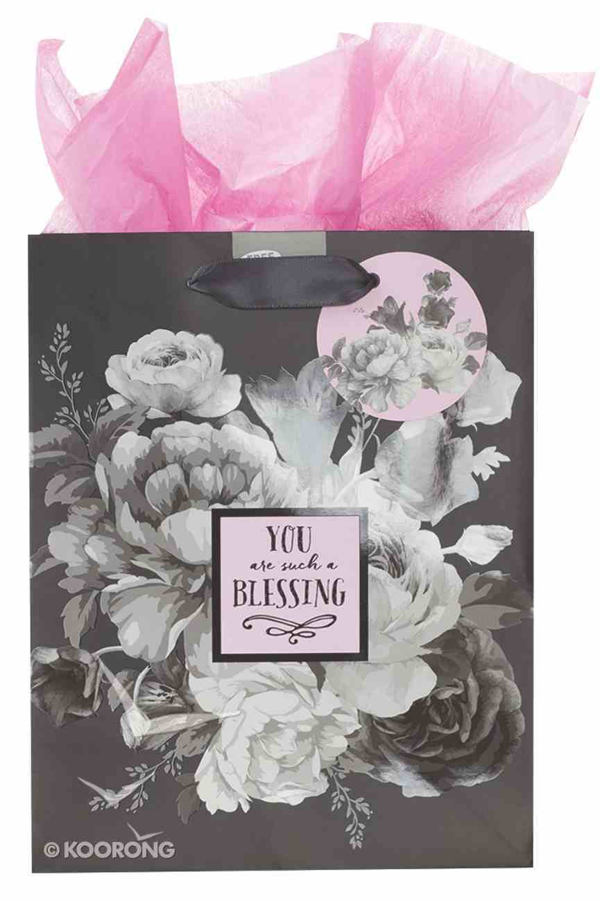 Gift Bag Medium: Botanical Range, You Are Such a Blessing (Inc Tissue Paper And Gift Tag) Stationery