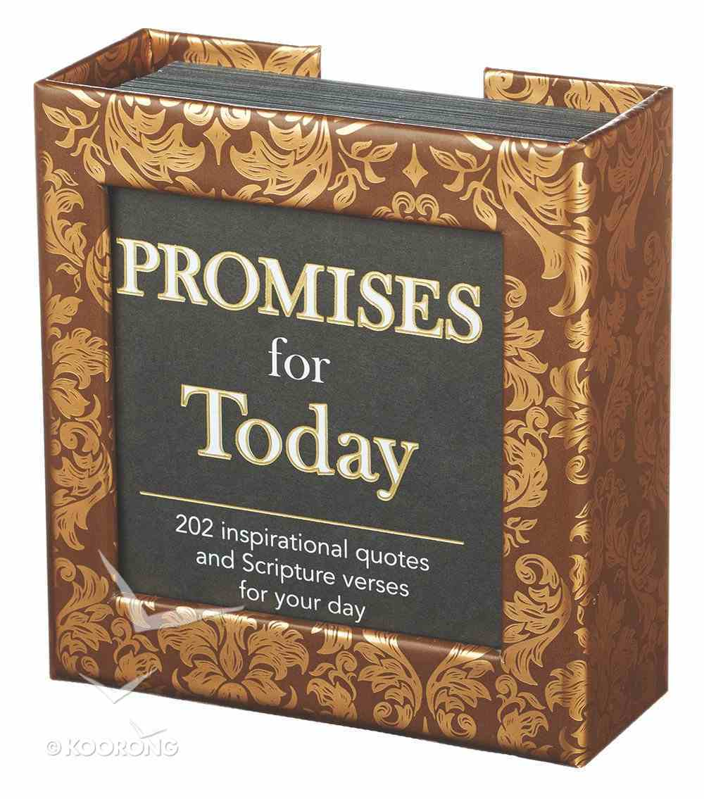 Box of Blessings: Promises For Today, Black/White Box