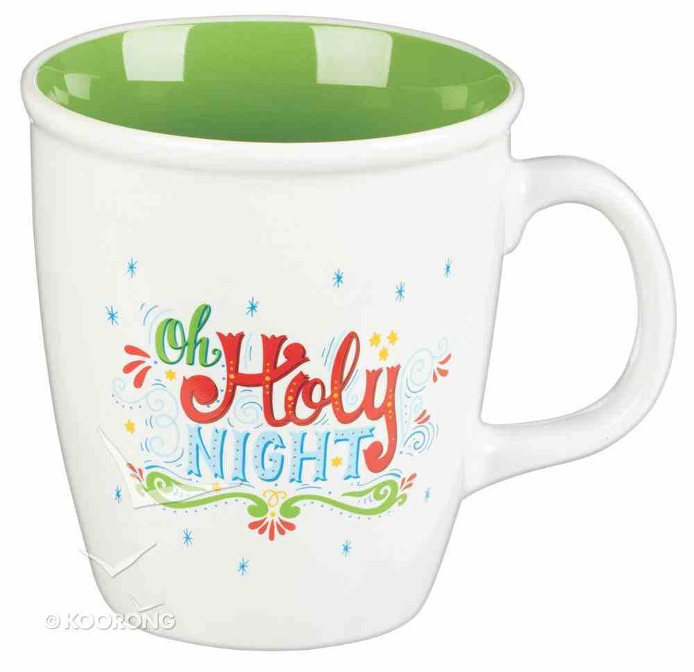 Christmas Ceramic Set of 4: Joy to the World; Season of Joy; Oh Holy Night; Joy, Love, Peace, Believe Homeware