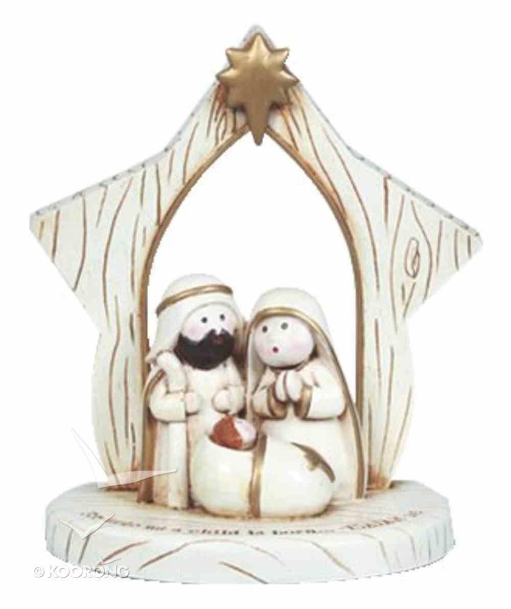 Christmas Figurine: A Child is Born (Isaiah 9:6) Homeware