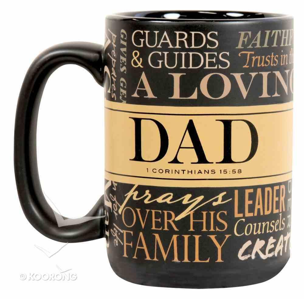 Ceramic Mug: Defining Moments - Dad (1 Cor 15:58) Homeware