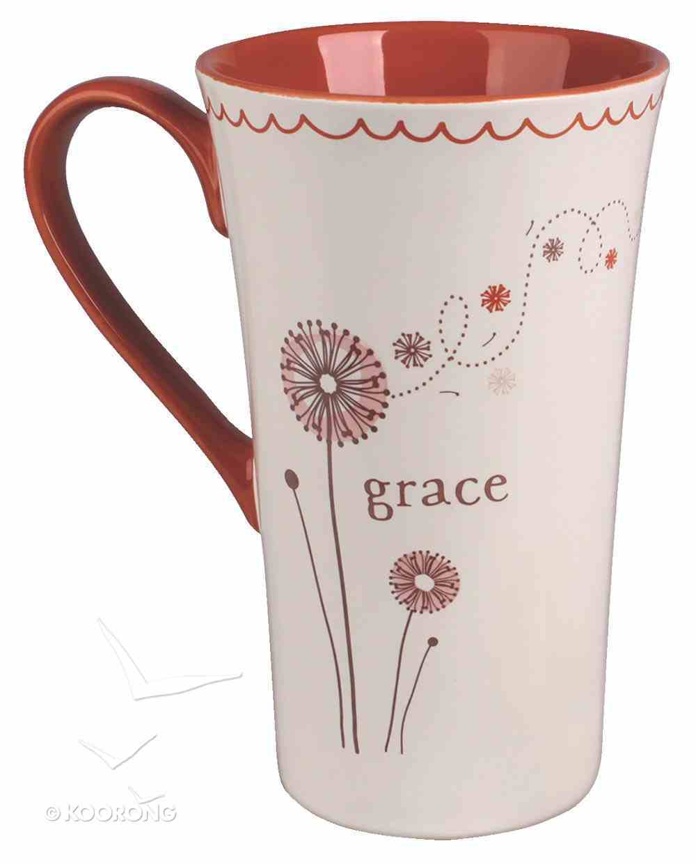 Ceramic Mug: Grace, May God Give You More and More Grace and Peace as You Grow in Your Knowledge of God and Jesus Our Lord Homeware