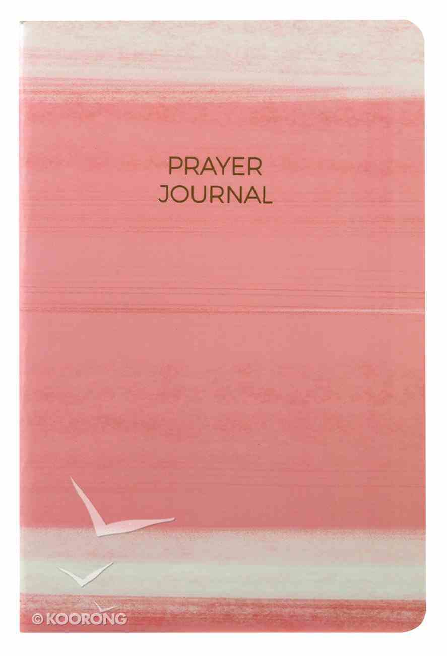 Prayer Journal: 6 Month Weekly Layout (Pink Stripe) Paperback