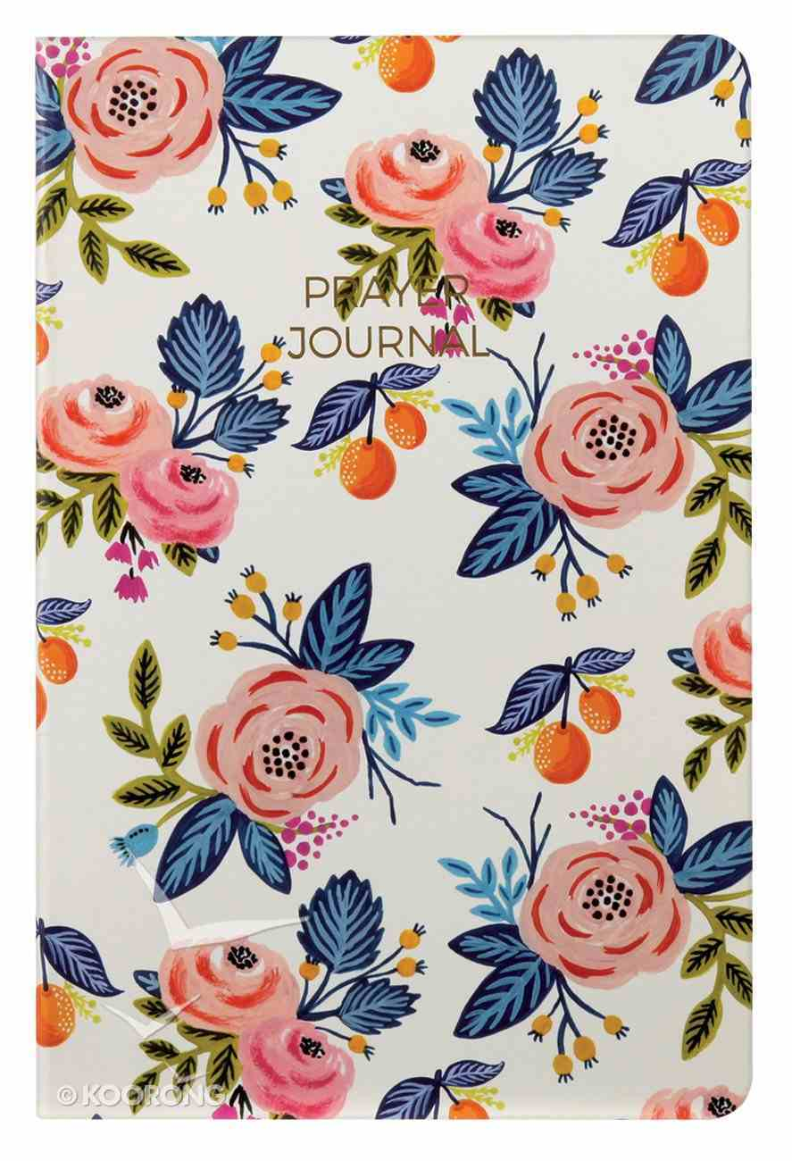 Prayer Journal: 6 Month Weekly Layout (Blue/ Pink Floral) Paperback