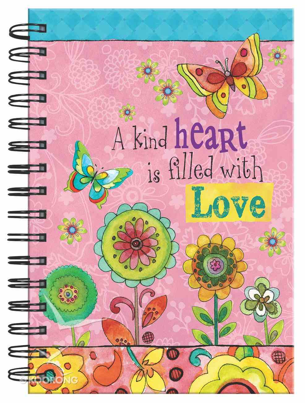 Spiral Journal: A Kind Heart is Filled With Love Spiral
