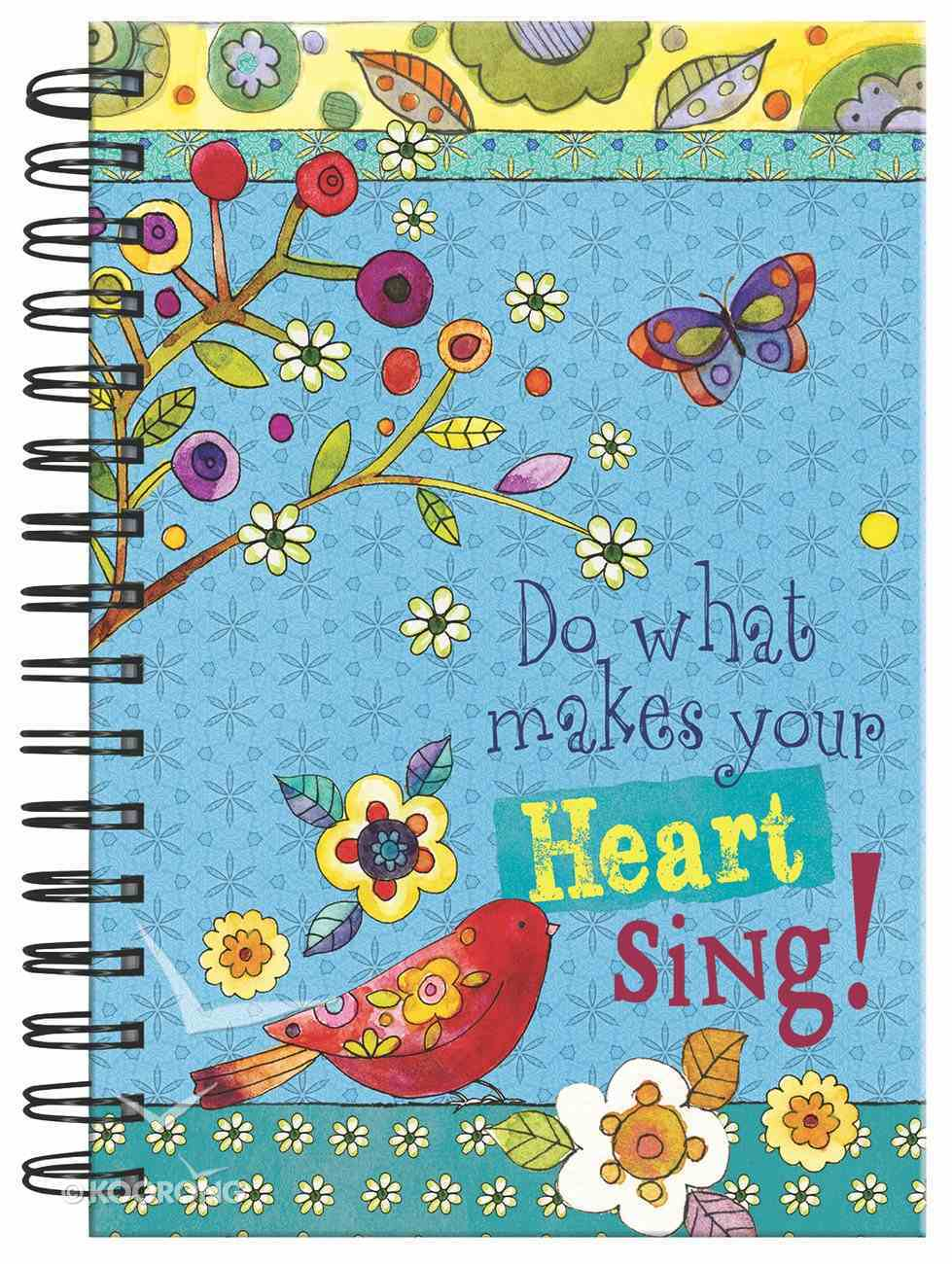 Spiral Journal: Do What Makes Your Heart Sing Spiral