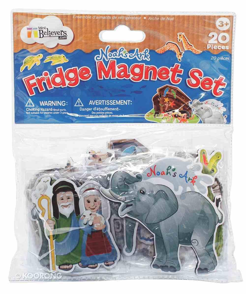 Fridge Magnets Set of 20: Noah's Ark Novelty