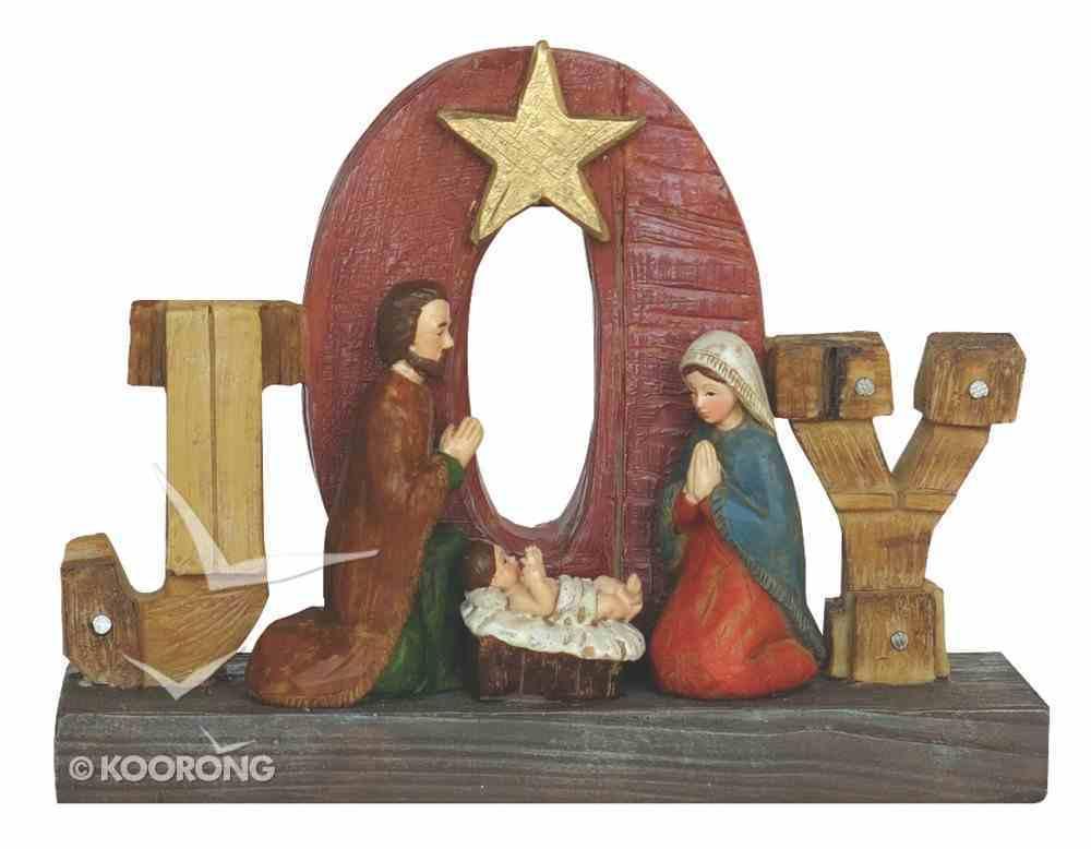 Resin Wood Look Holy Family Joy Homeware