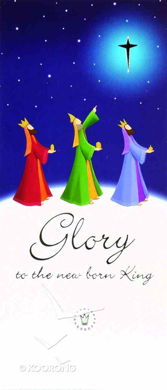 Christmas Boxed Cards Glory to the New Born King, Three Kings on Hillside Box