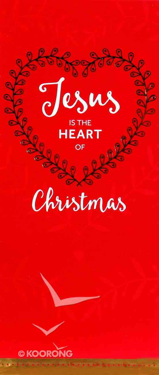 Christmas Boxed Cards Jesus is the Heart of Christmas, Red Box