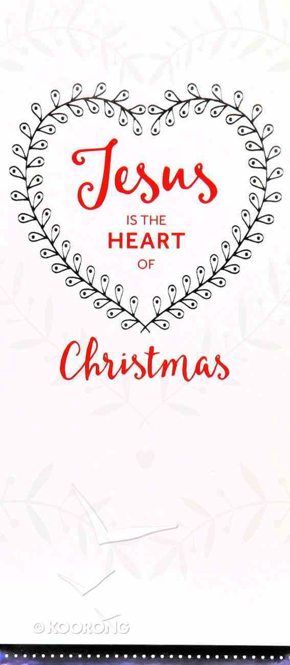 Christmas Boxed Cards Jesus the Heart of Christmas, White Box