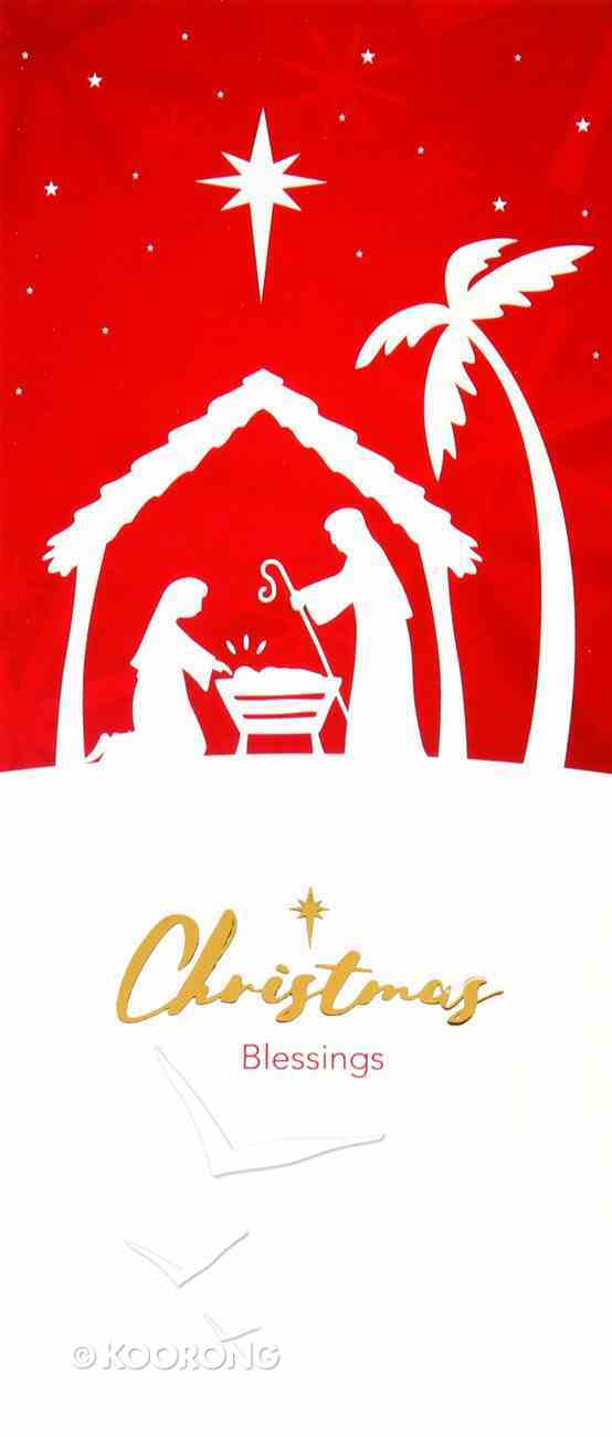 Christmas Boxed Cards Christmas Blessings Nativity Box