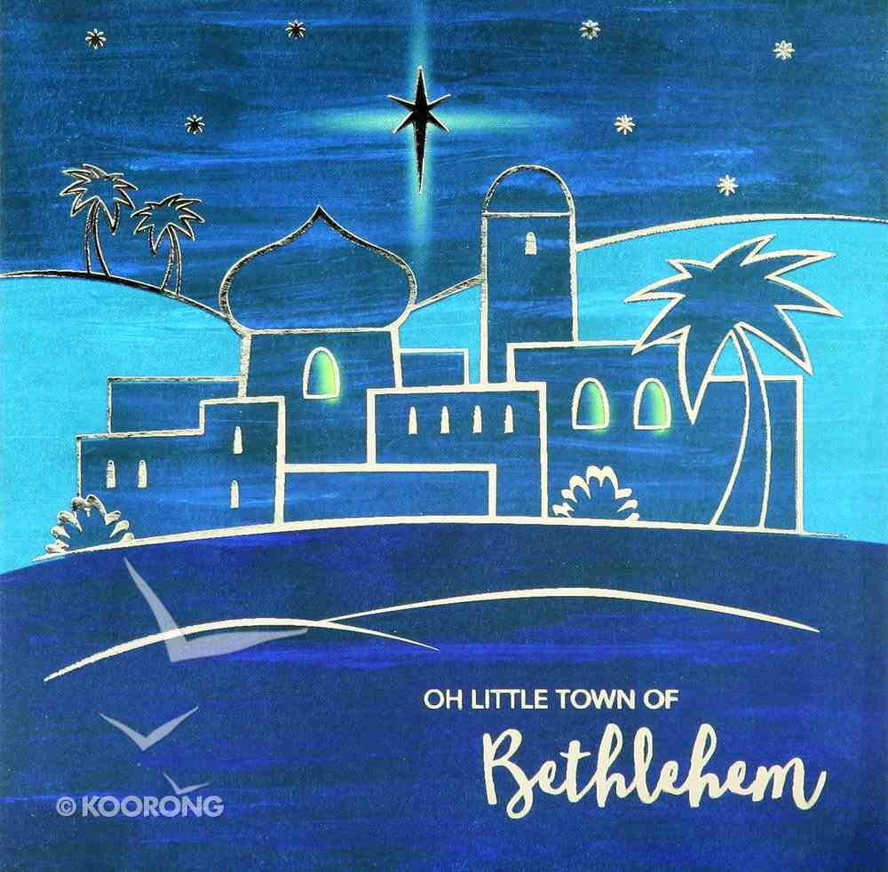 Christmas Boxed Cards Oh Little Town of Bethlehem Box