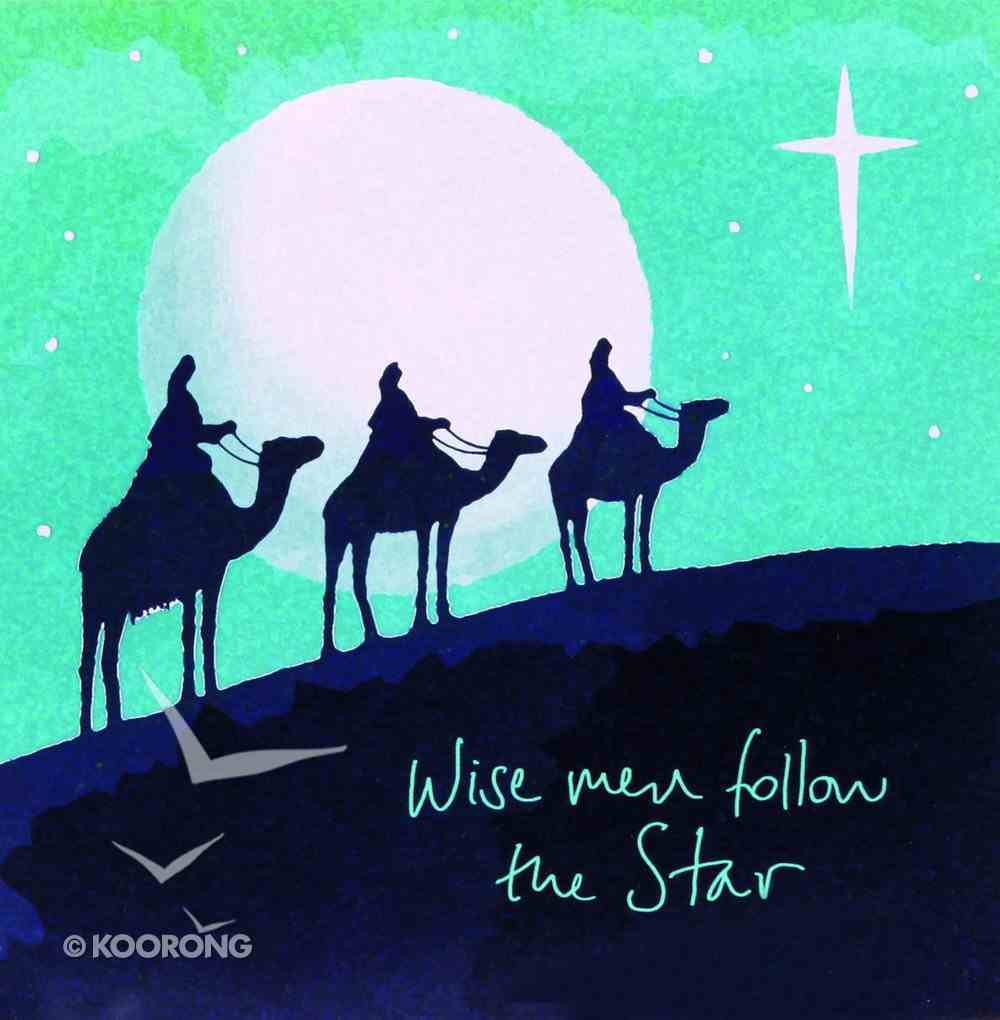 Christmas Boxed Cards Wise Men Follow the Star Box
