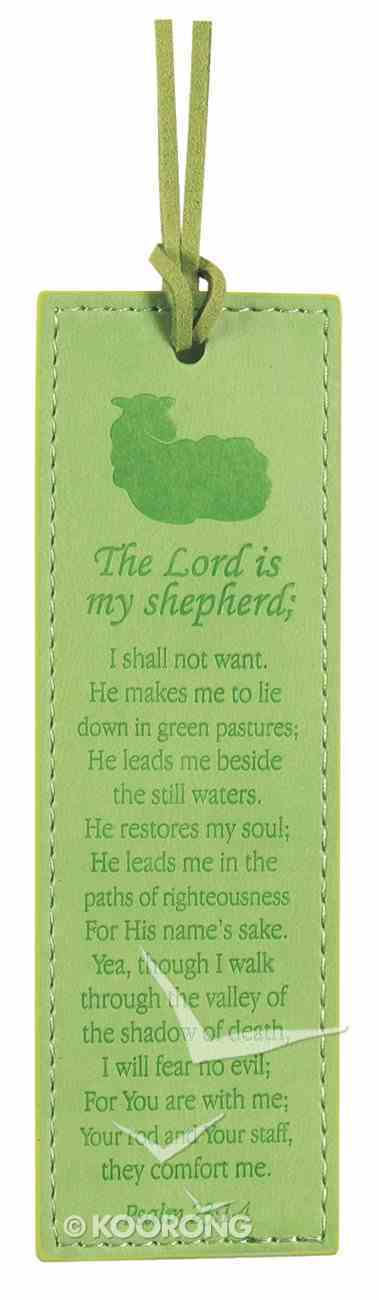 Bookmark: The Lord is My Shepherd, Psalm 23:1-4 Imitation Leather