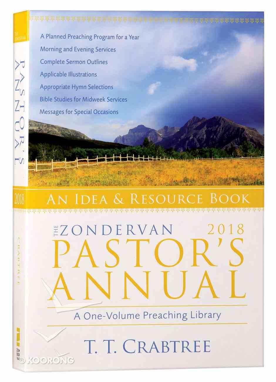 The Zondervan 2018 Pastor's Annual Paperback