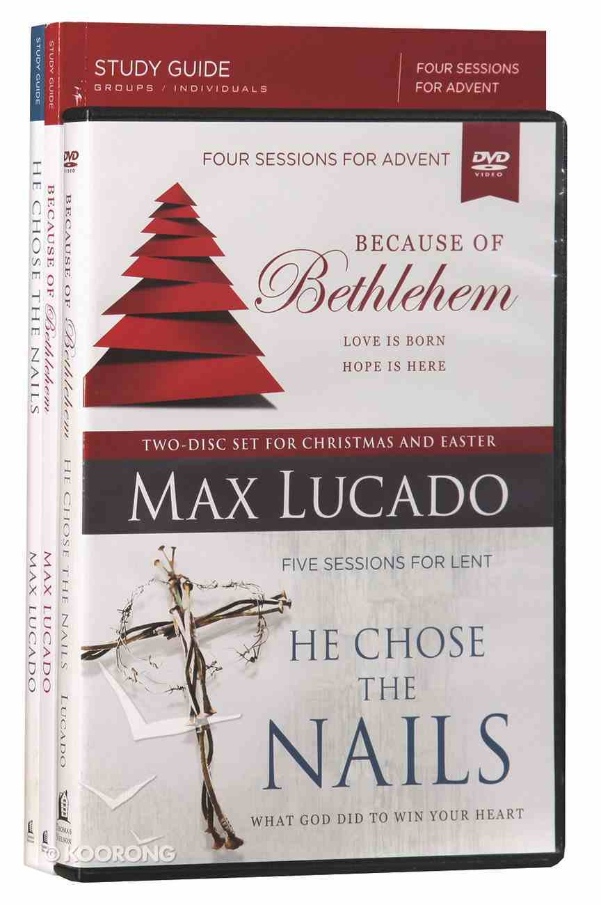 Because of Bethlehem/He Chose the Nails (Dvd With Advent & Lent Study Guides) Pack