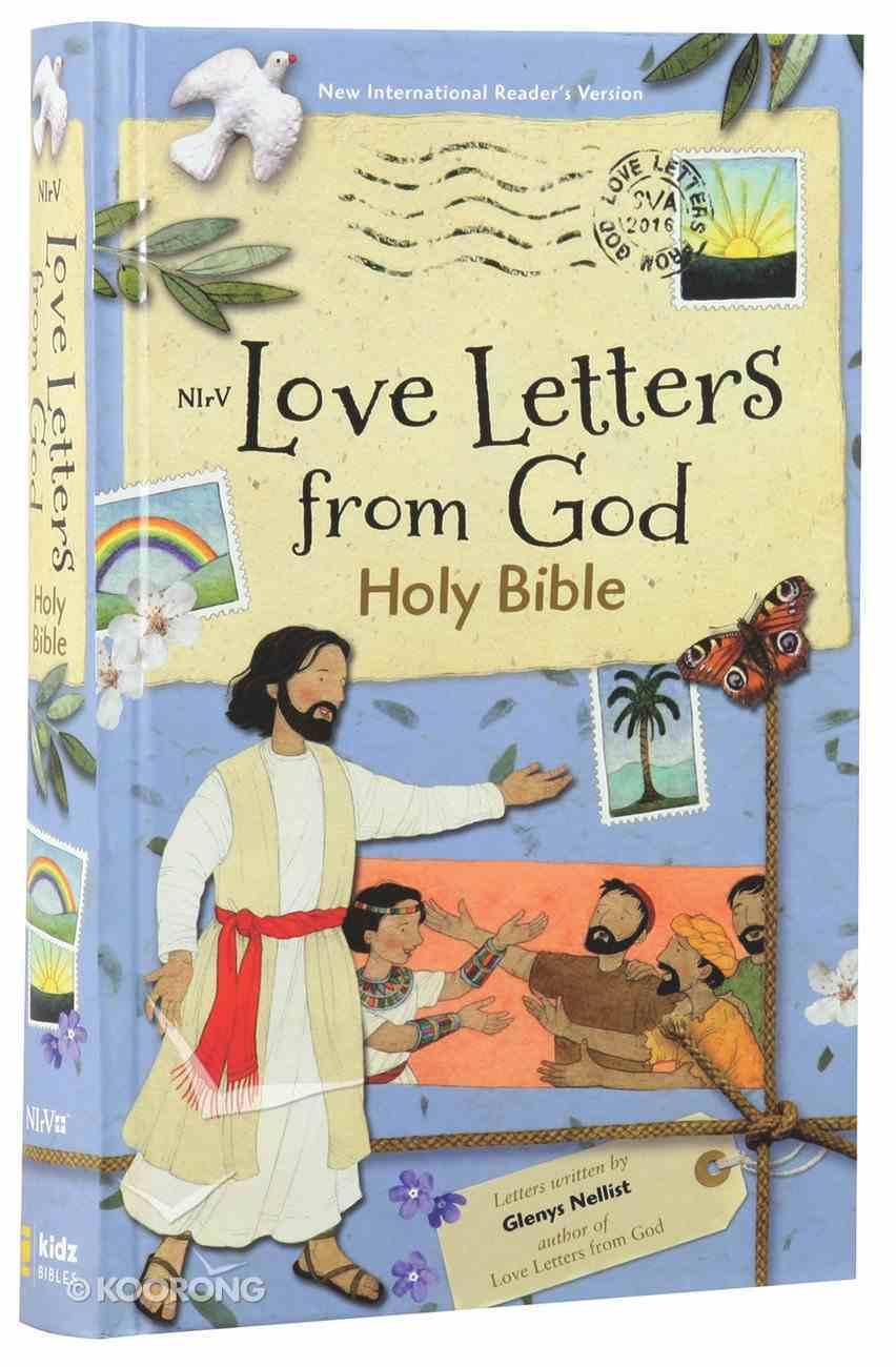 NIRV Love Letters From God Bible (Black Letter Edition) Hardback