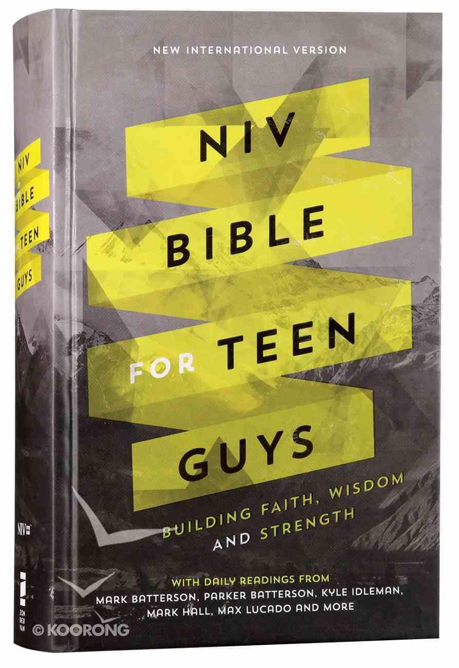 NIV Bible For Teen Guys (Black Letter Edition) Hardback