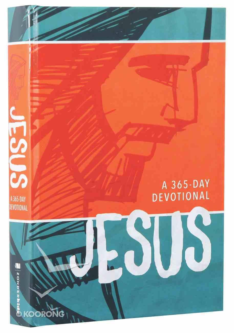 Jesus (A 365-day Devotional) Hardback