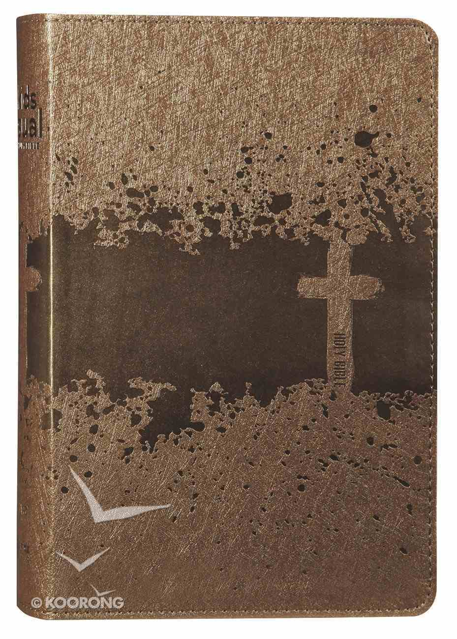 NIV Kids' Visual Study Bible Bronze Full Colour Interior Imitation Leather
