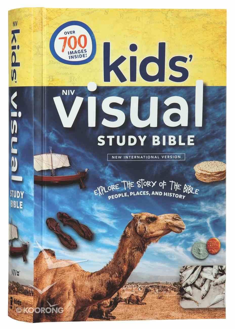 NIV Kids' Visual Study Bible Full Color Interior Hardback