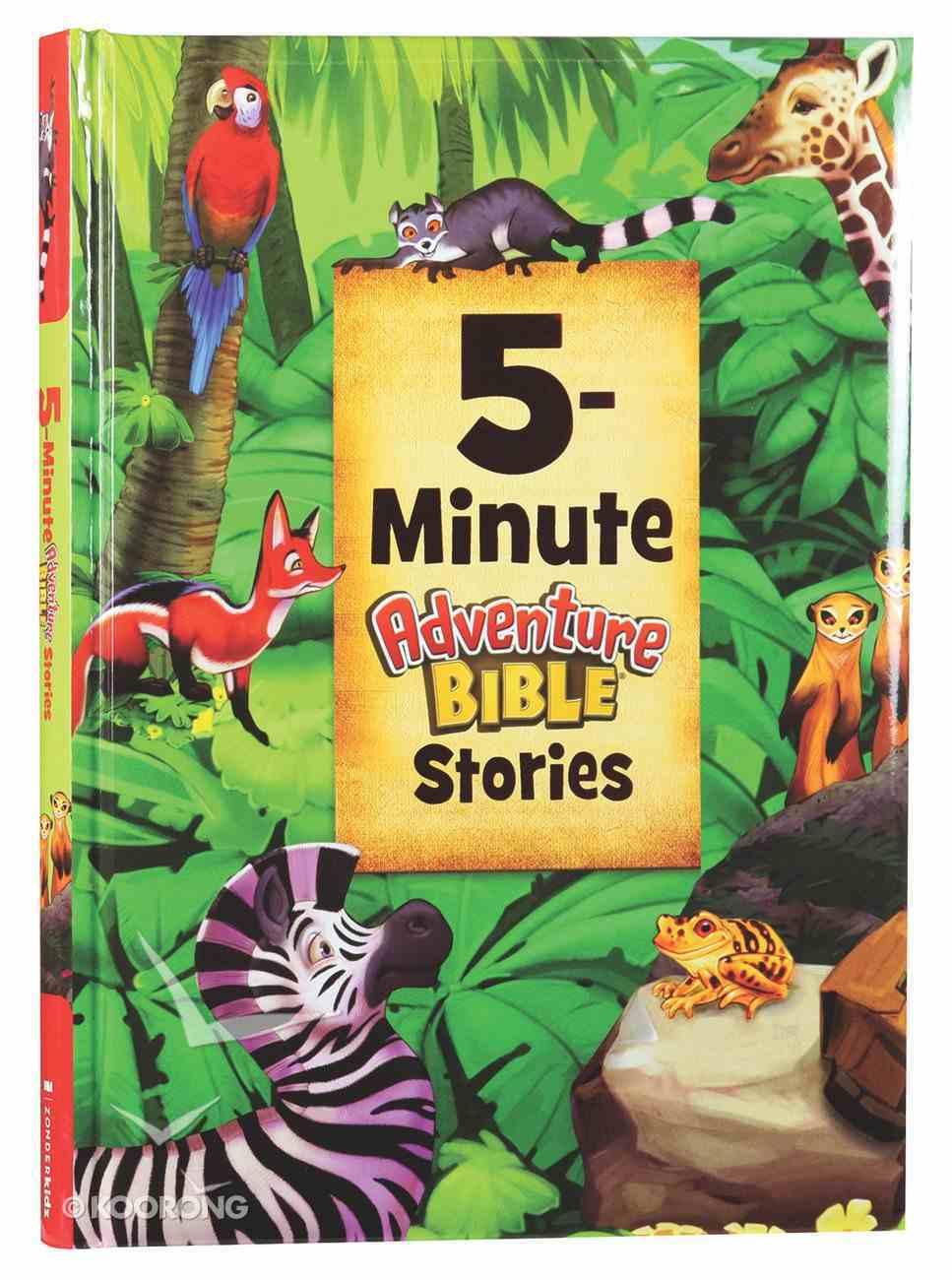 5-Minute Adventure Bible Stories Hardback