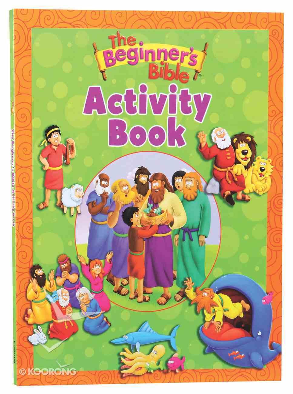 The Beginner's Bible Activity Book Paperback