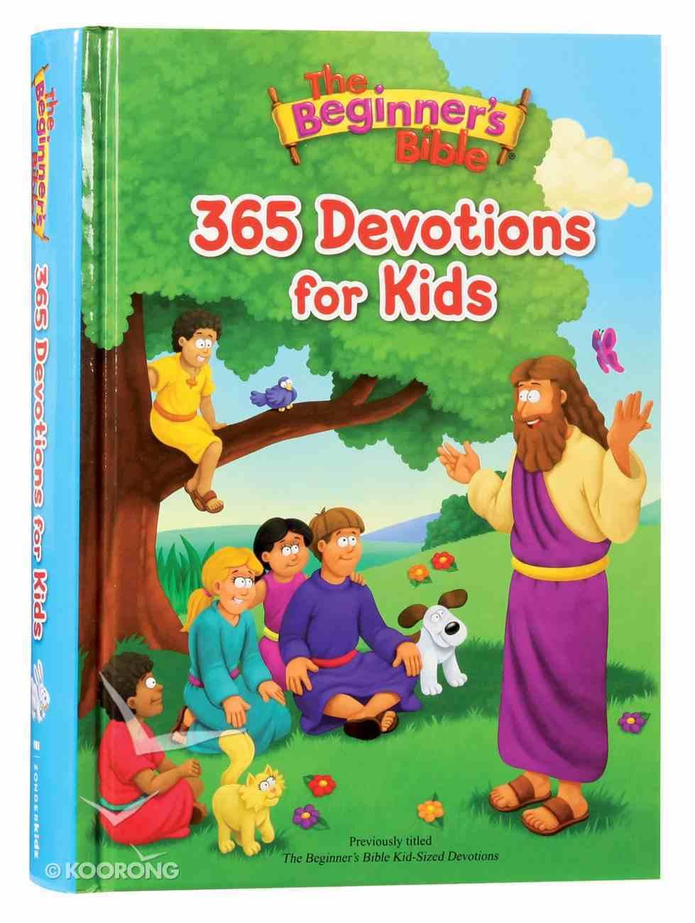 The Beginner's Bible 365 Devotions For Kids (Beginner's Bible Series) Hardback