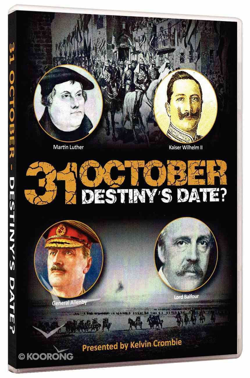 31 October - Destiny's Date? DVD