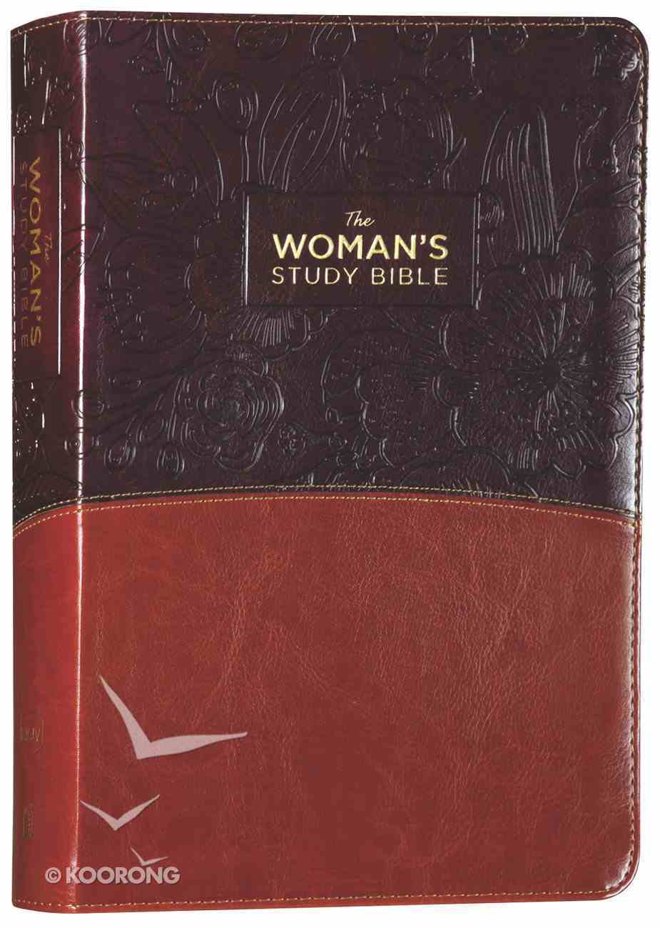 NKJV the Woman's Study Bible Brown/Burgundy Full-Color Fully Revised Imitation Leather