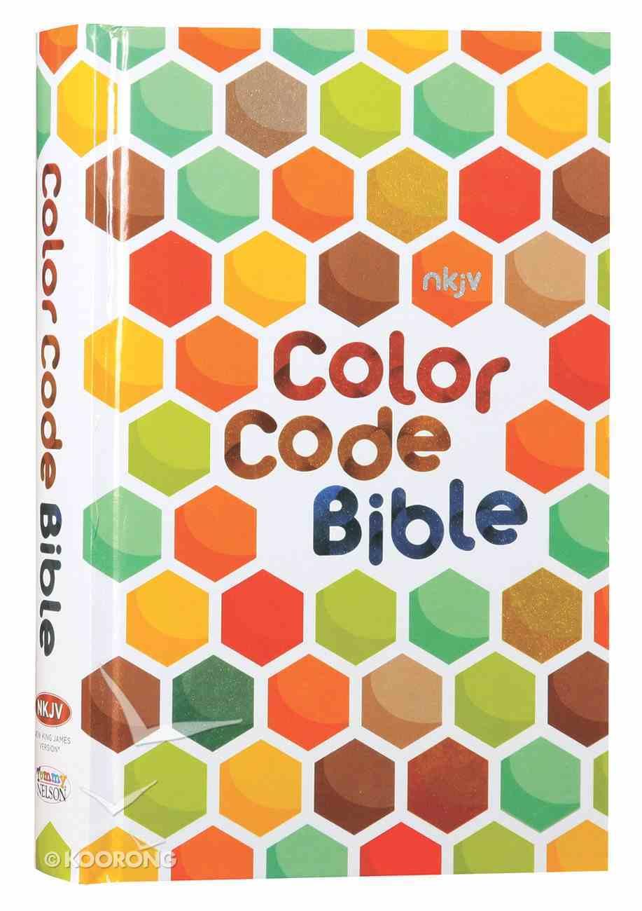 NKJV Color Code Bible Hardback