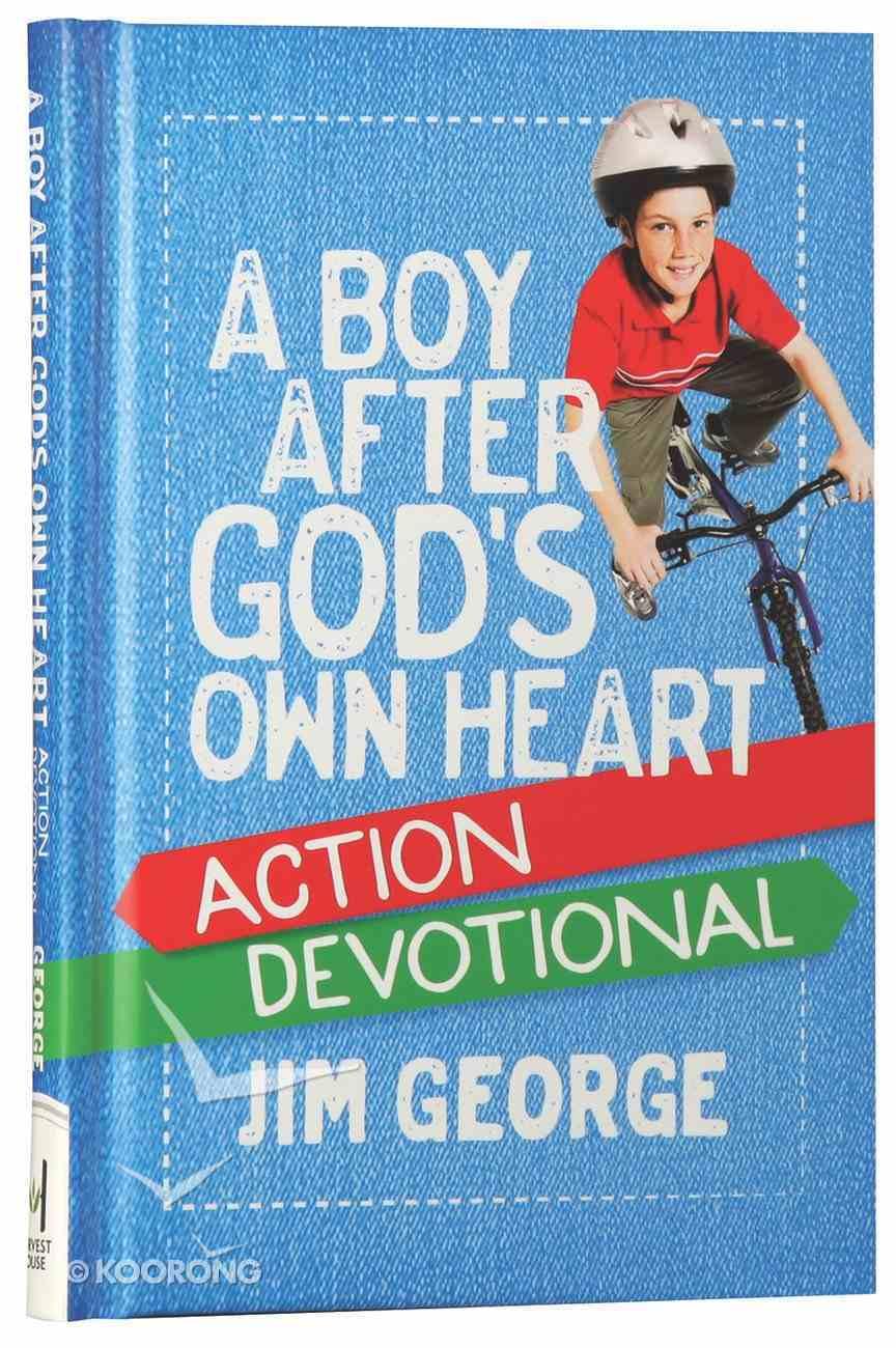 A Boy After God's Own Heart Action Devotional Hardback